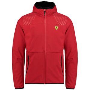 "Scuderia Ferrari Softshelljacke ""Logo"" - rot"