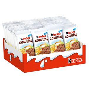 Kinder Country 40 Riegeln mit Milchcreme Füllung 940g 30er Pack