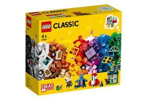 LEGO® Classic LEGO Bausteine - kreativ mit Fenstern, 11004