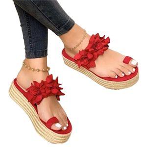Damen Flache Pantoletten Mode Hausschuhe Freizeit Sandalen Allgleiche Sandalen