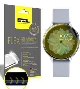 3x Samsung Galaxy Watch Active 2 44mm Schutzfolie Folie, 100% Displayabdeckung,