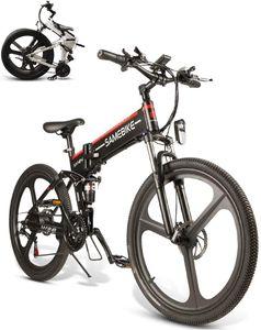 "SAMEBIKE 26""Elektrofahrrad E-Bike Scooter Trekking Faltrad Citybike Klappbar 350W Motor 48V 10AH"