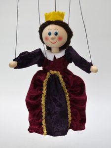 Dekorationsartikel Marionette Königin 20cm