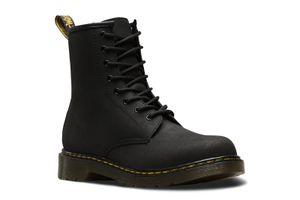Dr. Martens 1460 Serena J Black Chunky Glitter Kinder Boots Stiefel Schuhe Schwarz, Größe:35