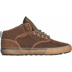Globe Herren Sneaker Motley Mid - Navy/Brown/Fur , Größe Schuhe:9.5