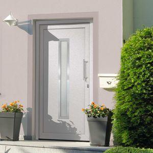 CLORIS Zimmertür Haustür - Weiß 98x208 cm #DE428042