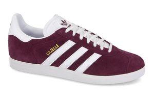adidas Originals Gazelle Herren Sneaker Rot Schuhe, Größe:42 2/3