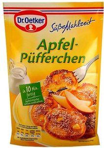 Dr. Oetker Apfel Püfferchen Mischung leckeres Süßspeisen Rezept 152g