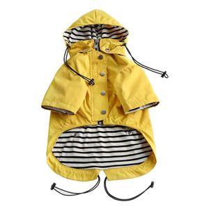 Gelb (A) XL $ Ins Wind und regen Burst Modelle Tide Marke Haustier Hund Regenmantel Hund Jacken