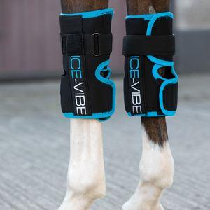 Horseware Ice-Vibe LED für das Vorderfußwurzelgelenk / Knee Wrap, Größe:Warmblut (L)