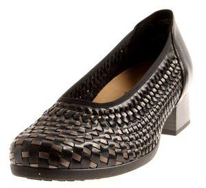 Solidus Comfort Pumps Damenschuhe Leder Schuhe Mira 55045 Weite K