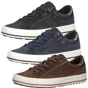 s.Oliver Damen Halbschuhe Schnürschuhe Sneaker 5-23615-25, Größe:37 EU, Farbe:Blau