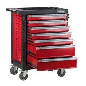 Werkstattwagen Werkzeugwagen Carlos Rollwagen mit 7 Schubladen Kantenschutz Leer