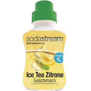SodaStream Konzentrat Ice Tea Zitrone Geschmack Getränkesirup 375ml