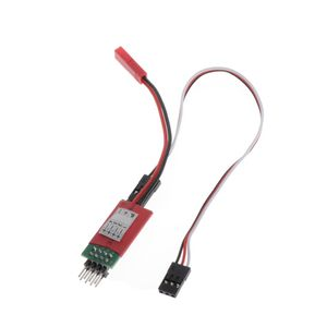 3 Kanäle Steuerschalter Empfänger Kabel Modellauto 4 LEDs Lichter Für RC Auto