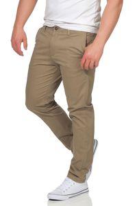 JACK & JONES Chinoshose mit Stretchanteil , Farbe:Beige / Beige, Hosengröße:W32/L32