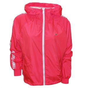 Tommy Jeans TJW TAPE SLEEVE WINDBREAKER Jacke Damen diva pink XL