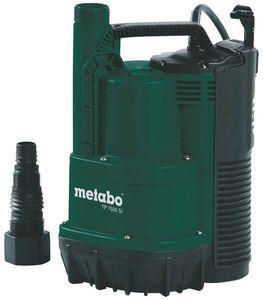 Metabo Klarwasser Tauchpumpe TP 7500 SI flachsaugend 300 Watt