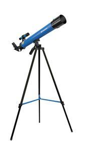 BRESSER JUNIOR Linsenteleskop 45/600 AZ blau