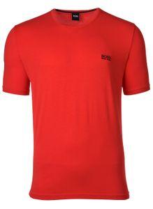 HUGO BOSS Herren T-Shirt kurzarm - Mix & Match, Rundhals, kleines Logo Hellrot XL