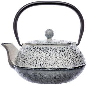 Gusseisen-Teekanne mit abnehmbarem Filter