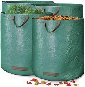 4pcs Gartensack Laubsack Gartenabfallsäcke Gartenabfallbehälter