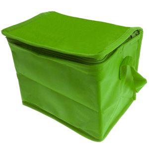 Mini Kühltasche Kühlbox Isoliertasche Thermotasche Reisetasche Camping Outdoor Isolierbox Picknicktasche faltbar klein - grün
