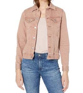 ADRIANO GOLDSCHMIED MYA Jeans-Jacke angesagte Damen Frühlings-Jacke Rosé, Größe:XS