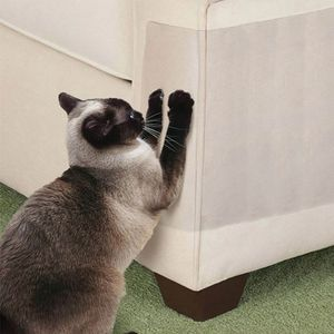 Sofa Möbelschoner von Katzen Transparent Cat Furniture Protector  15378