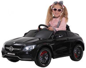 Kinder-Elektroauto Mercedes AMG C63 Lizenziert (Schwarz)
