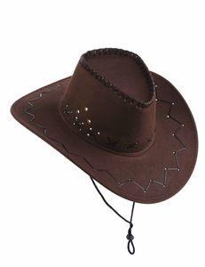 Cowboy-Hut Wilder Westen braun