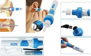 Ohrenreiniger Ear Wax Cleaner Ohrwachsentferner,Portable Ohrenreiniger Elektrisc