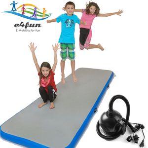 Air Track Matte - Aufblasbare robuste Gymnastik Matte 300 x 100 x 10 cm,