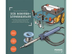 Franzis Die Roboter Lötwerkstatt komplett Set mit Lötkolben