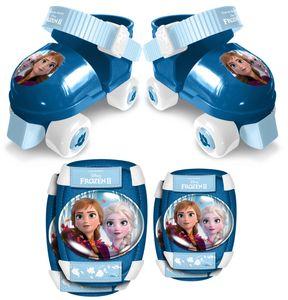 Disney rollschuhe mit Schutz Frozen 2blau Größe 23-27