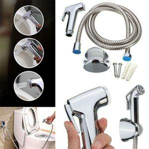 Bidet Brause Set mit Halter Dusche Edelstahl Hand WC Duschkopf Hygiene
