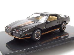 Pontiac Firebird 1982 schwarz Modellauto 1:43 ixo models
