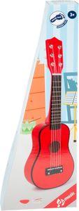 Legler small foot Gitarre, rot, ca. 53 x 17 x 5,5 cm