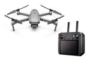 DJI Mavic 2 Pro Quadrocopter + DJI Smart Controller, Farbe: Schwarz/Grau