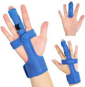 Fingerschiene, Finger Korrektur Schiene Einstellbare Trigger Finger Schiene kapselriss Handbandage Schiene für Mittelfinger, Kleiner Finger, Zeigefinger, Ringfinger, Arthrose Tenosynovitis