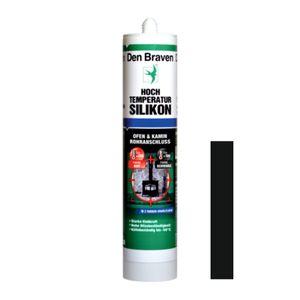 Hochtemperatur-Silikon 'Den Braven®' 300 ml, schwarz