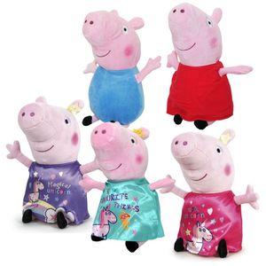 Auswahl Plüsch-Figuren 28 cm | Peppa Wutz | Peppa Pig | Softwool | Plüschtiere, Figur:Schorsch