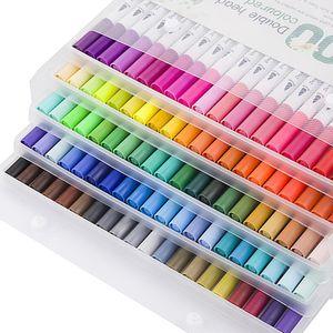 48-Farben-Acrylstift, Markierungsstift, Tintenmarkierungsstift auf Wasserbasis, Umweltschutz