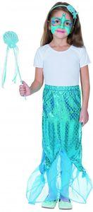 Rubie's kleid Set Meerjungfrau Mädchen blau 3-teilig