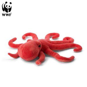 WWF Plüschtier Otkopus (50cm) lebensecht Kuscheltier Stofftier Tintenfisch Kraken