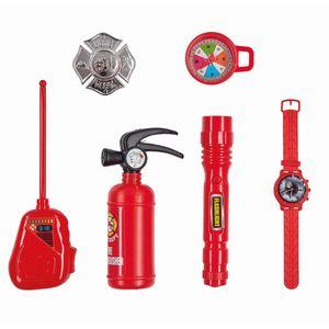 Kinder Feuerwehrmann Spiel-Set (6-teilig)