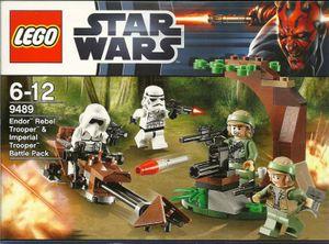 LEGO Star Wars 9489 - Endor Rebel Trooper & Imperial Trooper Battle Pack