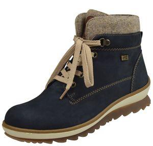 remonte Damen Stiefel Blau Schuhe, Größe:40