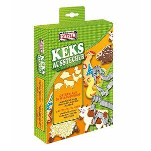 Kaiser 613703 Keksausstecher Ostern auf dem Bauernhof 5teilig