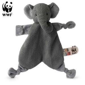 Cub Club - Schmusetuch Ebu der Elefant (grau, 30cm) für Kleinkinder Elephant Schnuffeltuch